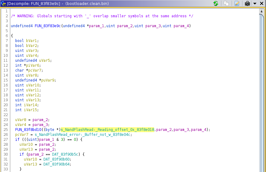 siligence_bootloader_nand_read_decompile.png